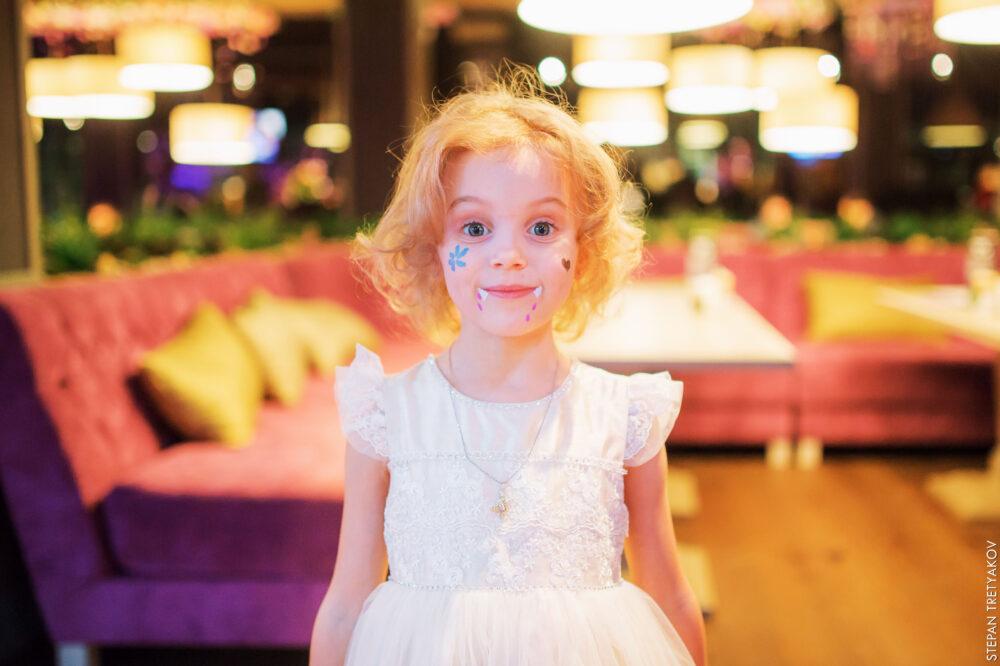 Детский праздник в кафе «Сирень»