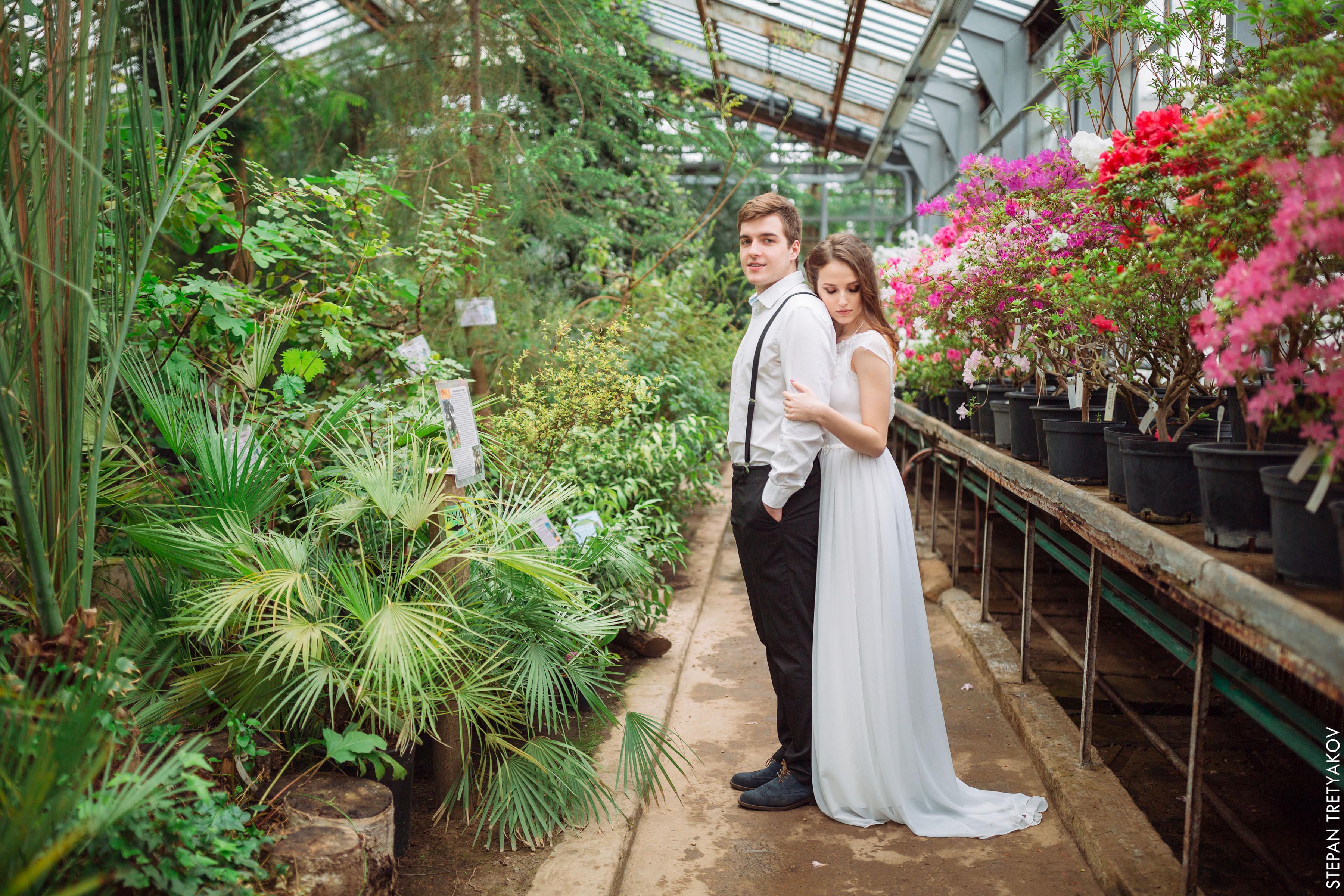 оно оранжерея ботанического сада спб свадебные фото никто никогда
