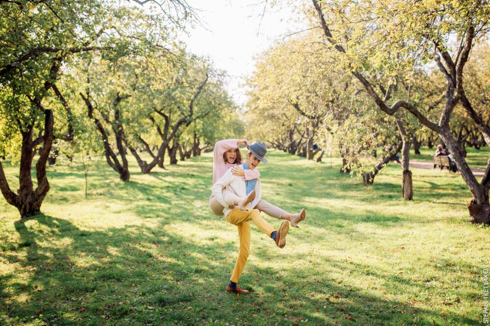 Осенняя Love Story Вовы и Арианы в Коломенском